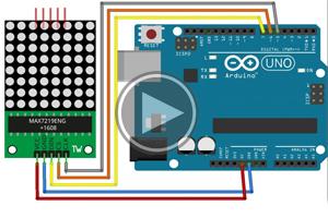 mBlock ile Arduino –  Ders14 # Dot Matrix Modül Kullanımı
