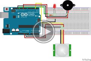 mBlock ile Arduino- DERS23 # PIR HAREKET SENSÖRÜ ile GÜVENLİK