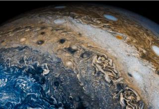 Jüpiter'in yüksek çözünürlüklü görüntülerini elde edildi!