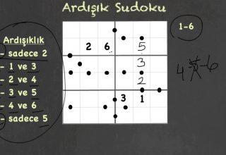 Ardışık Sudoku Nasıl Çözülür?
