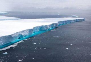 Dünyanın en büyük buzulu eriyerek kayboldu
