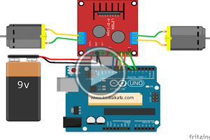mBlock ile Arduino – DERS18 # DC MOTOR (L298N)