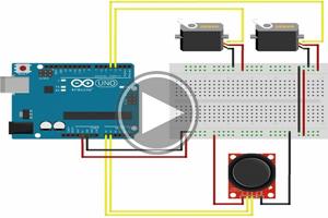 mBlock ile Arduino – DERS21 # JOYSTİCK ile 2 SERVO KONTROL