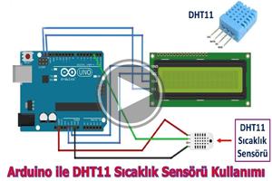 mBlock ile Arduino – DERS22 # DHT11 SICAKLIK ve NEM SENSÖRÜ LCD I2C