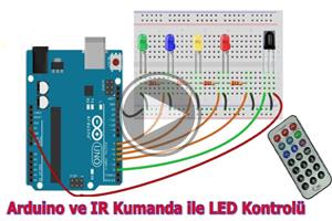 mBlock ile Arduino- DERS24 # (IR Remote) Kumanda ile Led Kontrolü