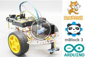 mBlock ile Arduino- Ders20 # ENGELDEN KAÇAN ROBOT ( Obstacle Avoiding Robot )