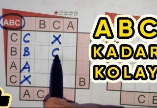 ABC Kadar Kolay Nasıl Çözülür?