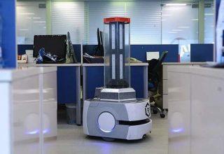 Bakteriyi hızlıca yok edebilen yerli robot