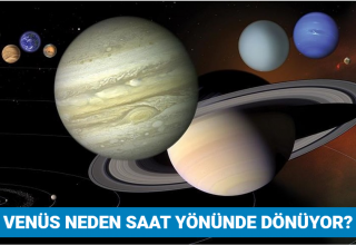 Venüs neden saat yönünde dönüyor?